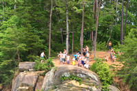 20160618 Fall Creek Rock Jumping